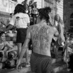 Manifestação no corpo