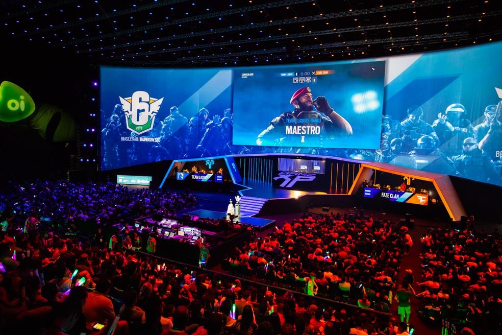 Campeonato de jogos no Brasil
