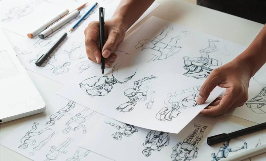 Processo de criação de uma animação